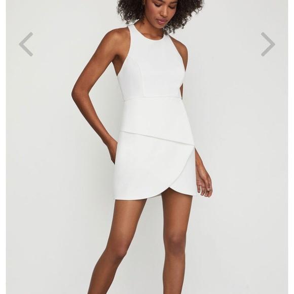 e7d0a83134f3f BCBGMaxAzria Dresses & Skirts - BCBGMAXAZRIA Ely Lace-Up Halter Dress